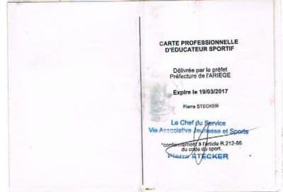 Carte Pro Bertrand SIREY 2
