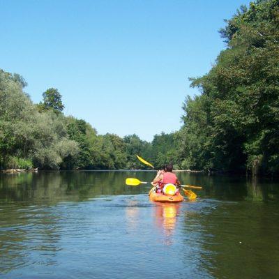 location de canoe