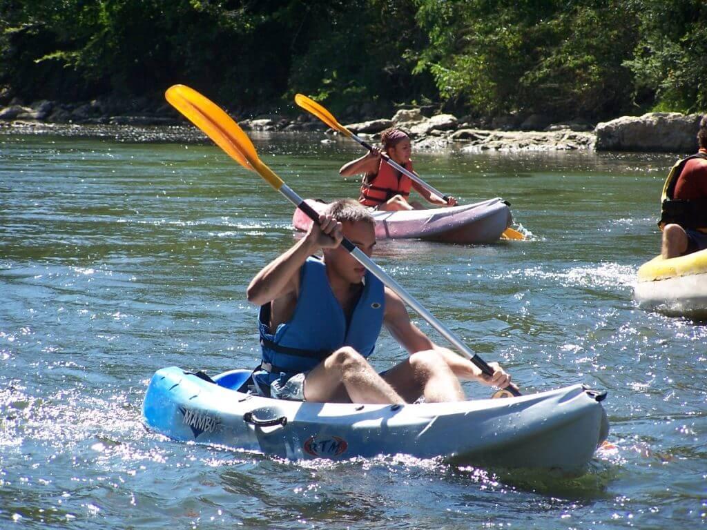 balade en canoe sur l'Ariège