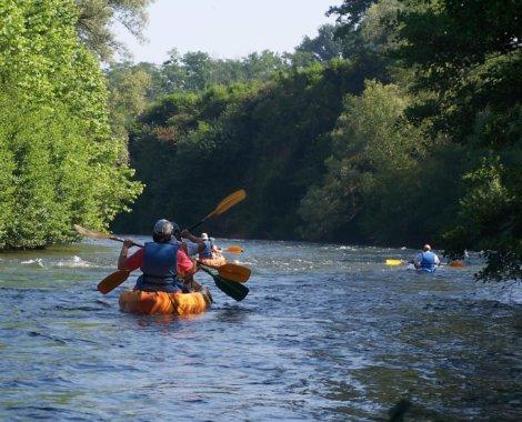 balade canoe pres de toulouse sous le soleil (1)