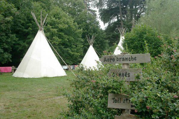 camping tipi ariege