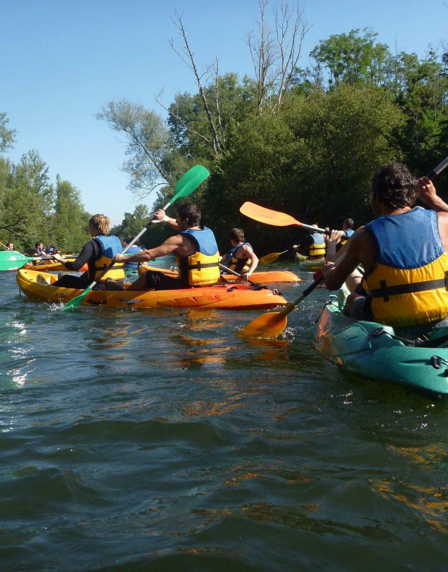 journée canoe sur l'Ariège