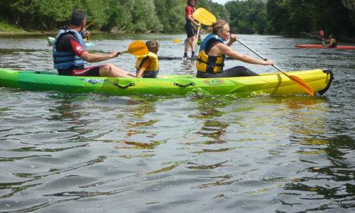 canoe en famille sur l-ariege (1)