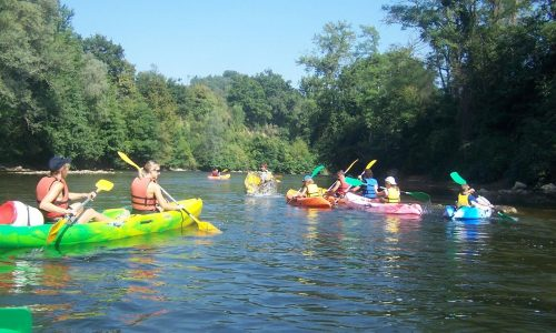 canoe en famille sur l-ariege (3)