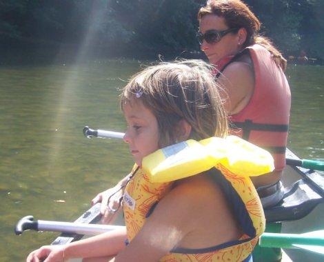 canoe en famille sur l-ariege (6)