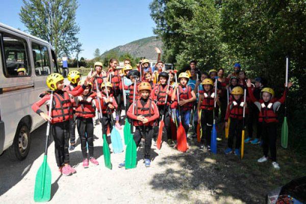 rafting groupe enfants (3)