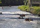 rafting sous le pont de foix