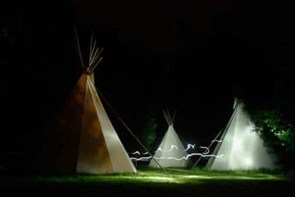 nuit en tipi en Ariège