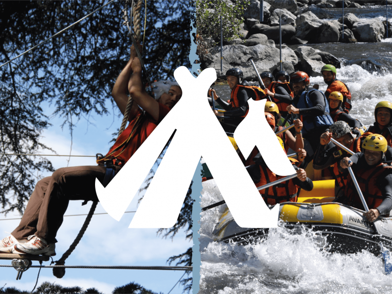 Weekend accrobranche et rafting